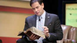 Rubio Faith Bible
